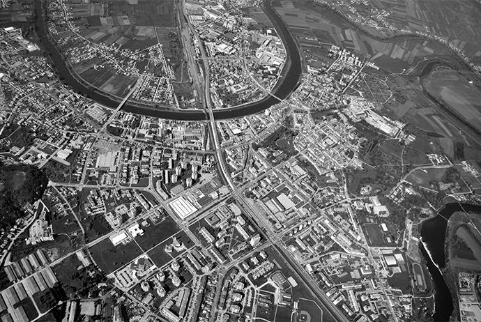 Karlovac iz zraka / Karlovac from above